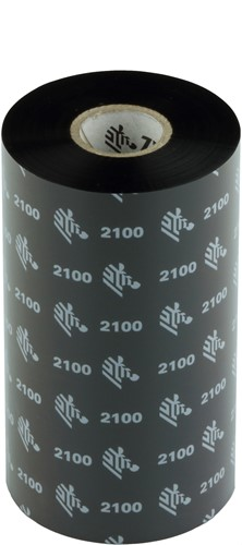 Zebra 2100 Wax lint 131mm x 450m