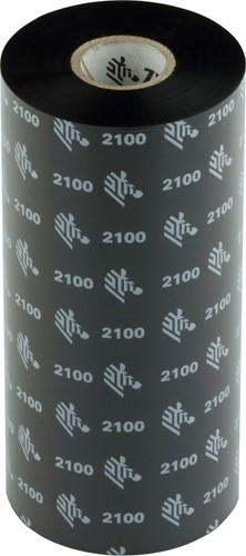 Zebra 2100 Wax lint 220mm x 450m