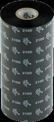 Zebra 2100 Wax lint 450m voor 220mm industriële printers