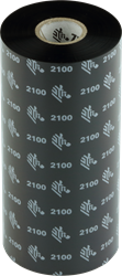 Zebra 2100 Wax lint 450m