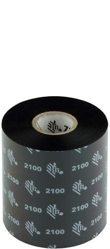 Zebra 2100 Wax lint 80mm x 450m