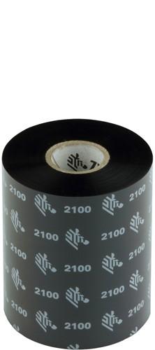 Zebra 2100 Wax lint 89mm x 450m