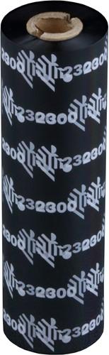 Zebra 2300 Wax lint 110mm x 74m