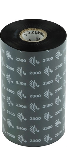Zebra 2300 Wax lint 131mm x 450m