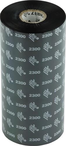 Zebra 2300 Wax lint 156mm x 450m