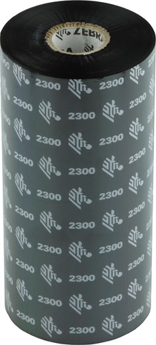 Zebra 2300 Wax lint 220mm x 450m