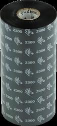 Zebra 2300 Wax lint 450m voor 220mm industriële printers