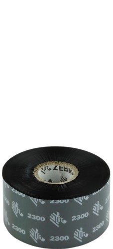 Zebra 2300 Wax lint 40mm x 450m