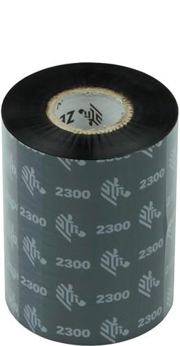 Zebra 2300 Wax lint 83mm x 300m