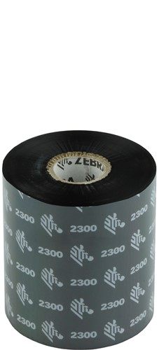 Zebra 2300 Wax lint 83mm x 450m