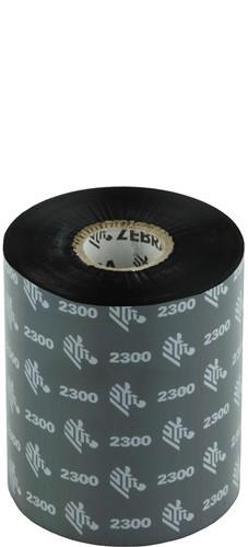 Zebra 2300 Wax lint 89mm x 450m