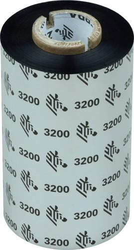 Zebra 3200 Wax/Resin lint 110mm x 300m voor GT800 printers