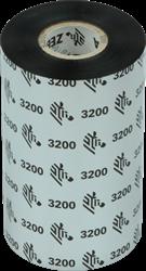 Zebra 3200 Wax/Resin lint 300m voor 110mm industriële printers