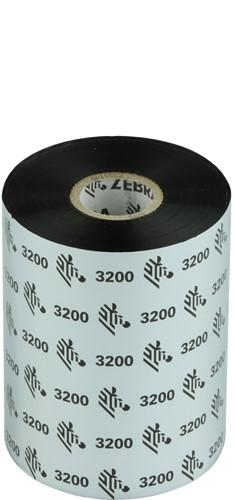 Zebra 3200 Wax/Resin lint 102mm x 450m