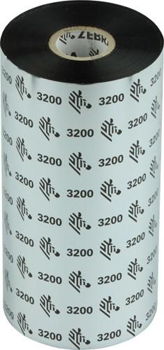 Zebra 3200 Wax/Resin lint 220mm x 450m