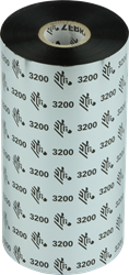 Zebra 3200 Wax/Resin lint 450m voor 170mm industriële printers