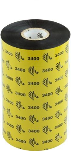 Zebra 3400 Wax/Resin lint 131mm x 450m