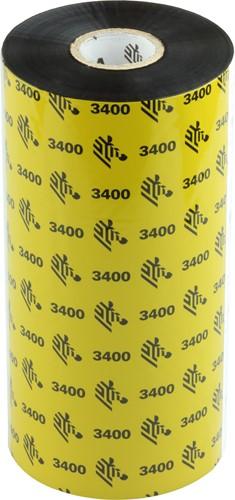 Zebra 3400 Wax/Resin lint 174mm x 450m