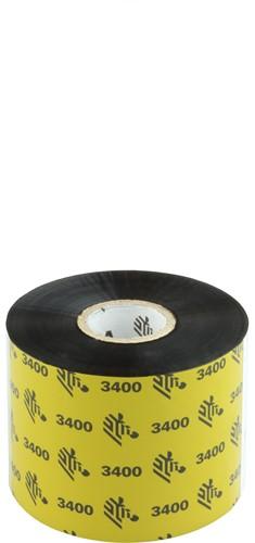 Zebra 3400 Wax/Resin lint 60mm x 450m