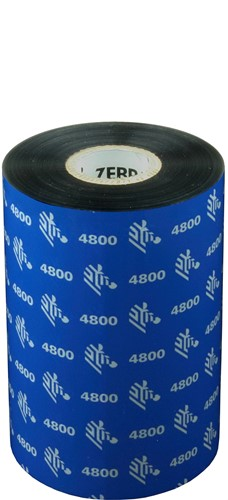 Zebra 4800 Resin lint 110mm x 450m