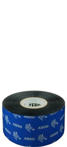 Zebra 4800 Resin lint 40mm x 450m
