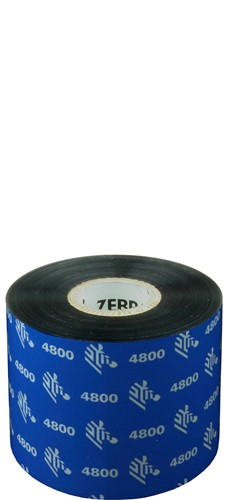 Zebra 4800 Resin lint 60mm x 450m