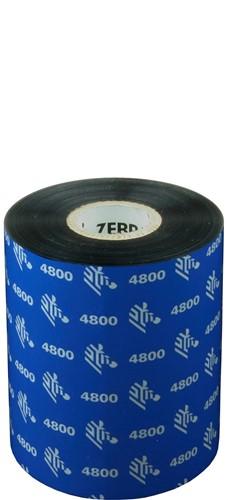 Zebra 4800 Resin lint 89mm x 450m