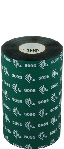 Zebra 5095 Resin lint 110mm x 450m