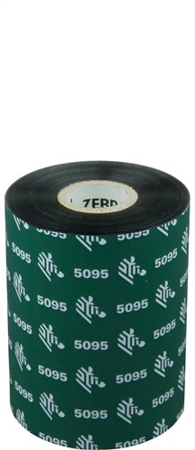 Zebra 5095 Resin lint 89mm x 450m