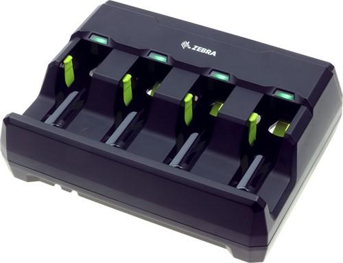 Acculader 4-voudig met netadapter voor Zebra DS3678-LI3678