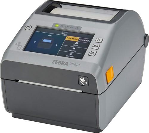 Zebra ZD621d Touch Display 203dpi Dispenser (USB-SER-ETH-BT-WLAN)