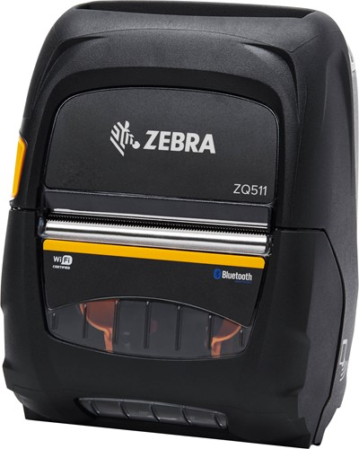 Zebra ZQ511 printer 203dpi zonder accu (USB-BT-WLAN)
