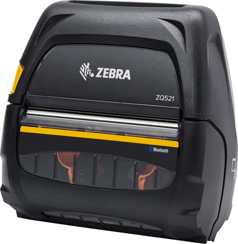 Zebra ZQ521 printer 203dpi 4900mAh accu (USB-BT-WLAN)