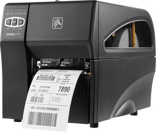 Zebra ZT220 TT 300 dpi standaard (USB-SER-ETH)