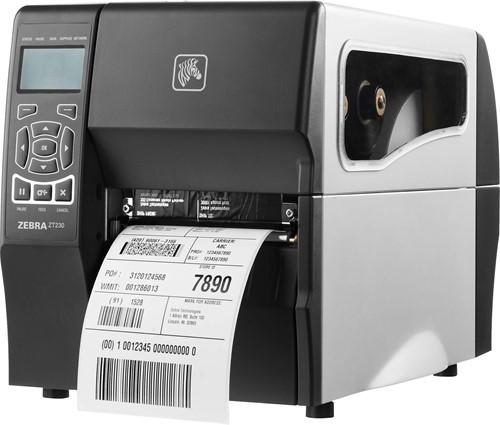 Zebra ZT230 TT 203dpi standaard (USB-SER-ETH)