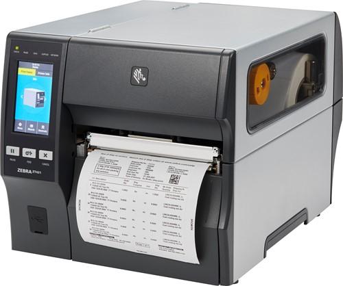 Zebra ZT421 203dpi printer standaard (USB-SER-ETH-BT-WLAN)